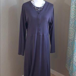 Tall, Plum Dress